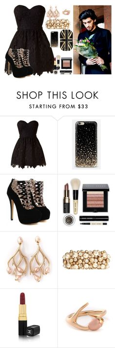 """(read the d )My Birthday With Zayn"" by sabrina-emo ❤ liked on Polyvore featuring Nuevo, Bobbi Brown Cosmetics, Shaun Leane, Valentino, Chanel, Alexander McQueen, women's clothing, women, female and woman"