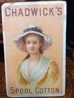 Trading Card: Chadwick's Spool Cotton