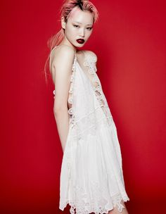 How to Wear White Dresses, Starring Fernanda Ly - See more on wmag.com.