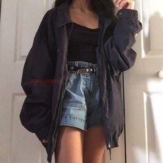 Outfit Jeans, Jeans Outfit Summer, Summer Jeans, Hijab Outfit, High Waisted Shorts Outfit, Adidas Outfit, Fall Winter Outfits, Shirt Outfit, Summer Outfits Women 30s