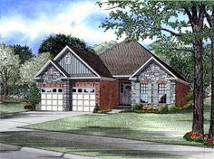 Discover the Havencreek Traditional Home that has 3 bedrooms and 2 full baths from House Plans and More. See amenities for Plan Narrow House Plans, European House Plans, European Plan, European Style, House Plans 3 Bedroom, Cottage House Plans, House Plans And More, Best House Plans, Monster House Plans