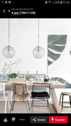 Get inspired by these dining room decor ideas! From dining room furniture ideas, dining room lighting inspirations and the best dining room decor inspirations, you'll find everything here! Dining Room Wall Decor, Dining Room Lighting, Dining Room Design, Dining Room Furniture, Dining Room Table, Decor Room, Furniture Ideas, Furniture Makers, Kitchen Tables