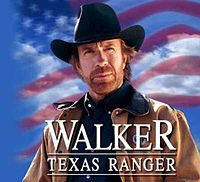 Walker, Texas Ranger is an American television action crime drama series  starring Chuck Norris as a member of the Texas Ranger Division.The show aired on CBS in the spring of 1993, with the first season consisting of three pilot episodes. Eight full seasons followed with new episodes airing from September 25, 1993 to May 19, 2001 and reruns continuing on CBS until July 28, 2005.
