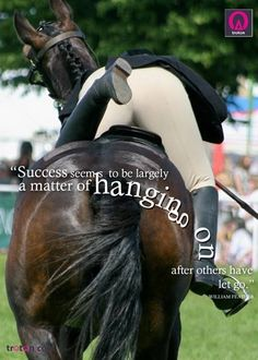 A position I often find myself in, when Romeo decides to turn around and go the other way! :D #quotes #horse