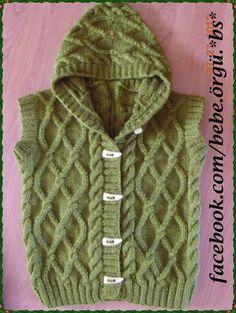 Bildergebnis für chalecos en tricot