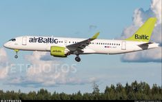 YL-AAT // Airbus A220-371 // Air Baltic