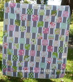 nicey jane squares quilt pattern