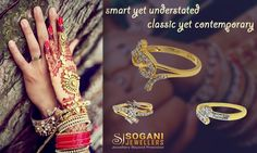 Smart Yet Understated Classic Yet Contemporary...! Our Diamond Rings collection compliments the inherent charm and unwavering confidence of the Bride of today.  Explore Now : http://bit.ly/2jFRPui Showroom Sogani Jewellers  C-19, Vaishali Marg, Vaishali Nagar Jaipur. Call- +919799809156, 0141-4024656.