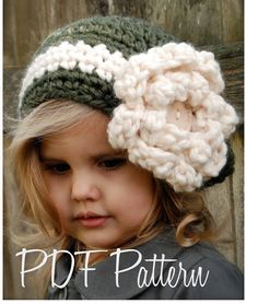 This is a listing for The PATTERN ONLY for The Dailynn Slouchy.  This hat is handcrafted and designed with comfort and warmth in mind... Perfect for layering through all the seasons...  This hat makes a wonderful gift and of course also something great for you or your little one to wrap up in!  All patterns written in standard US terms!  *Sizes are for Toddler, Child, and Adult *Any Super Bulky yarn  ***You can always contact me if you have any problems with the pattern. I am happy to help…