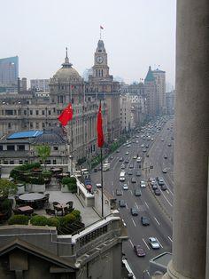 The Bund. Shanghai, China