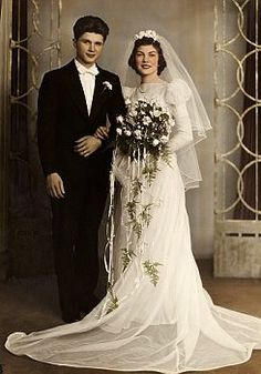 1939 Wedding Vintage  wedding dress,
