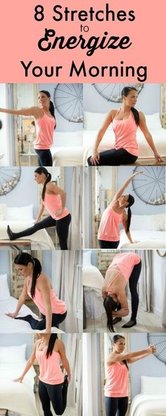 Stretches to energize your morning