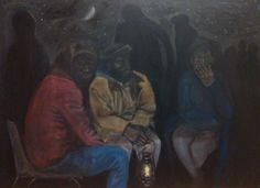 Acrylic painting in progress....