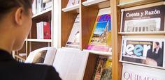 Revistas para estudiantes de español, revistas de literatura y de pensamiento.