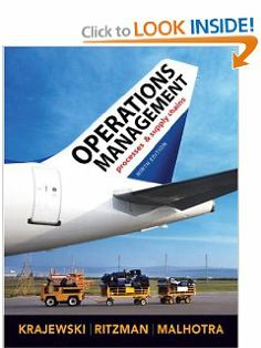 Operations management 9th nineth edition text only lee j operations management 9th edition by lee j krajewski 2339 672 pages fandeluxe Images