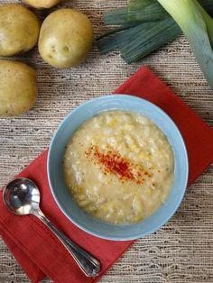 Smoky Potato Leek Soup