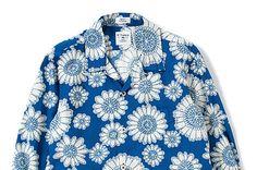 "Bedwin  Heartbreakers L/X OG Aloha Shirts ""Rogers"""