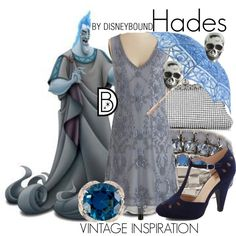 Hades by leslieakay on Polyvore featuring polyvore, fashion, style and King Baby Studio