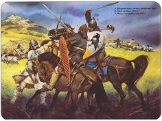Byzantine Heavy Cavalryman vs Hungarian Knight