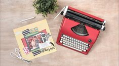 Typecast Typewriter Tips, Tricks and Project Ideas We R Memory Keepers, Typewriter, Projects, Project Ideas, Memories, Make It Yourself, Learning, Blog, Video Tutorials