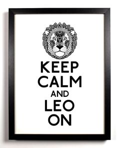 I know this is probably talking about Leo the lion but we can pretend it means the other Leo. The better Leo  :)