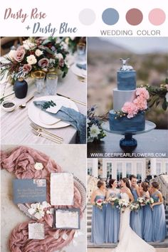 dusty rose wedding color ideas #weddings #weddingideas #weddingcolors #dustyrose #wedding #deerpearlflwers