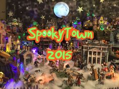 My SpookyTown Village 2015 - Stephanie Tingle