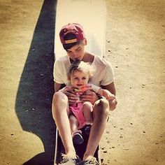 Joe with Darcy! <3 Darcy is the cuttest kid ever!!