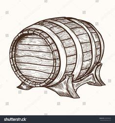 Výsledek obrázku pro old wooden barrel Barrels, Barrel