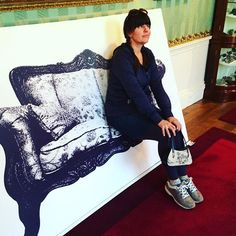 #chatsworth #chair show, the impetus for the trip. Did not disappoint. #chairnerd #chairgasm