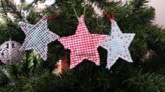 Decorazioni natalizie in cotone
