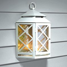 Lattice Mirrored Lantern