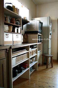 キッチン収納after