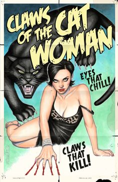 scottblairart: Claws of the Cat Woman