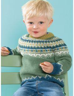 Garnpakke i Lanolin Wool fra Dale Garn. Boys Sweaters, Winter Sweaters, Baby Barn, Winter Gear, Knitting For Kids, Drops Design, Sweater Outfits, Sarees, Kids Outfits