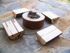 A Little Woodland Fairy Fire Pit by MonkeysOnTheRoof on Etsy, $11.00