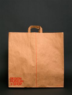 Spin has created a new identity for the Design Museum Shop. The consultancy says the line 'symobolises the first mark made in the creation of any design and shows how design is at the core of everything the museum touches'. What does everyone think?
