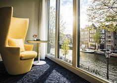 Hotel Andaz à Amsterdam. Entrez de plain-pied dans l'univers d'Alice au pays des merveilles, revisité par le designer Marcel Wanders. marcelwanders.com #deco #design #hotel #amsterdam