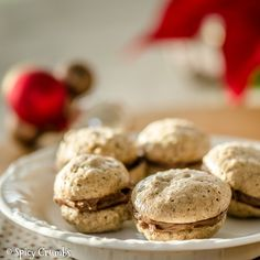 Healthy Cooking, Christmas Cookies, Nutella, Cookie Recipes, Sweet Tooth, Spicy, Food And Drink, Sweets, Baking