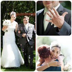 Emmy + Rodolphe : Un mariage DIY   Mariages & Turbulettes #cérémonie #Mariagevintage