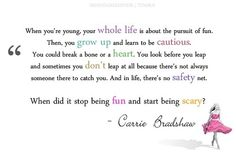 Oh Carrie, this is very true.