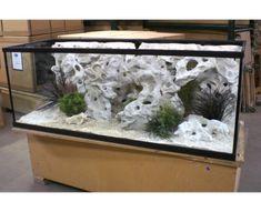 Holey Rock Background – Your Fish Stuff Cichlid Aquarium, Aquarium Set, Nature Aquarium, Home Aquarium, Aquarium Design, Aquarium Fish Tank, Fish Tanks, Fish Aquariums, Aquarium Ideas