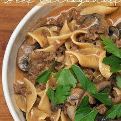 Here's An Quick And Easy Dinner Recipe For A One-Pot Beef Stroganoff