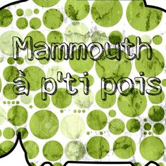 Anniversaire du blog Maman Pouponne Papa Bricole: Mammouth à p'ti pois, une créatrice talentueuse !