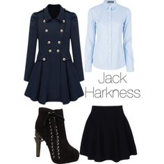 Chick Version of Captain Jack Hotness... er...Harkness... yeah I meant Harkness
