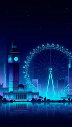 London Eye Ferris Wheel iPhone Wallpaper - iPhone Wallpapers - My best wallpaper list Scenery Wallpaper, Galaxy Wallpaper, Screen Wallpaper, Cool Wallpaper, Mobile Wallpaper, Wallpaper Backgrounds, Artistic Wallpaper, Affiche Breaking Bad, Minimal Wallpaper