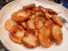Zsanuária: Krumplis pogácsa... olajban sütve... a részletes recept Hungarian Recipes, Sweet And Salty, Food 52, Cucumber, Cake Recipes, Goodies, Food And Drink, Potatoes, Yummy Food