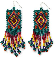 Image detail for -Decree® Woven Seedbead Earrings in Harrisburg | PennLive