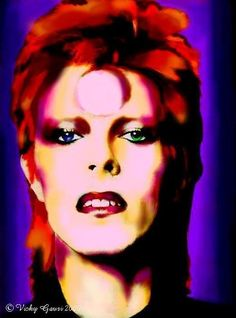 Fan Art of DB for fans of David Bowie 5355791 Angela Bowie, Alexandria, Duncan Jones, David Bowie Fashion, Ian Hunter, Make Mine Music, David Bowie Art, Aladdin Sane, The Thin White Duke