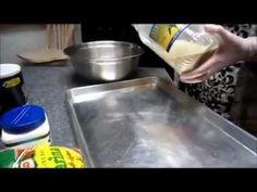 كنافة نابلسية from scratch  To make the knafa dough:......لصنع عجينة الكنافة  4 cups of semolina....... 4 اكواب سميد 2 cups of flour .........2 كوب طحبن 1 pack of yeast (1tbsp)......معلقة صغيرة خميرة pinch of salt..........رشة ملح 1/4 tsp baking soda............ربع ملعقة كربونات الصودا